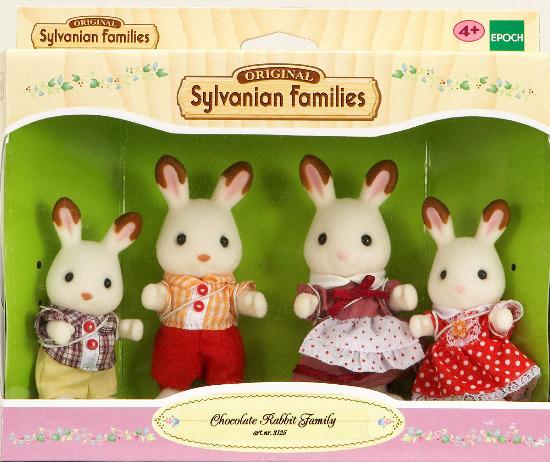 Toutes les figurines de Sylvanian Family disponibles à la Maison du Cormoran