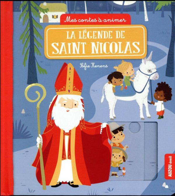 livre legende saint nicolas auzou